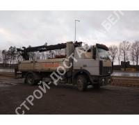 Автоуслуги МАЗ с гидроманипулятором (стрела 10 м), г/п 9 тонн, 8 поддонов (р-р кузова 5,2*2,45 м) (км)