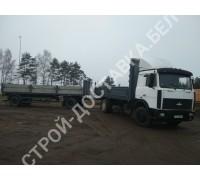 Автоуслуги МАЗ 5336 гп 10 тонн, 8 поддонов (р-р 6,5*2,4 м) (час)