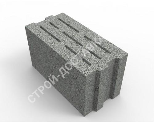 Керамзитобетонные блоки стеновые (полнотелые ) 490x250x185 (кратно поддону с завода)