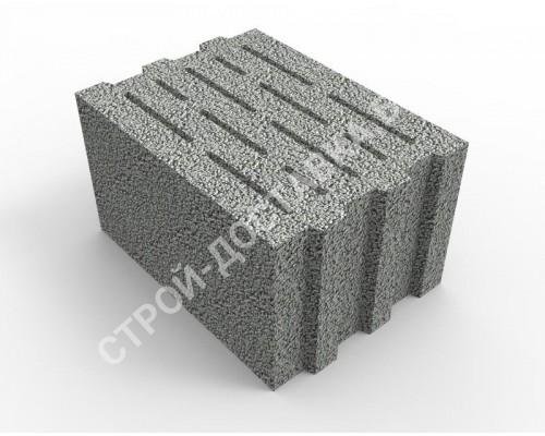 Керамзитобетонные блоки стеновые (пустотелые)400*300*240 (поштучно)