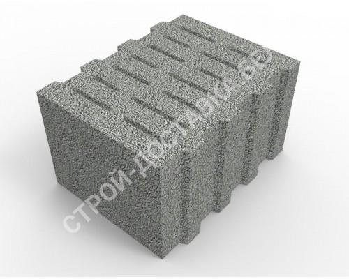 Керамзитобетонные блоки стеновые(пустотелые)300x400x240(поштучно)