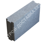Керамзитобетонные блоки строительные «ТермоКомфорт» для перегородок толщина 100 мм (отгрузка кратно поддону с завода)