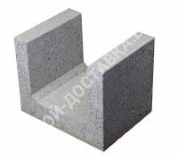 Керамзитобетонные блоки строительные «ТермоКомфорт» для перемычек шириной 300 мм (отгрузка кратно поддону с завода)