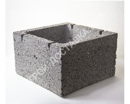 Керамзитобетонные блоки строительные «ТермоКомфорт» (для вентканалов) (отгрузка кратно поддону с завода)
