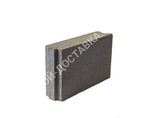 Керамзитобетонные блоки строительные «ТермоКомфорт» (для перегородок) толщина 100 мм  400*100*240 мм