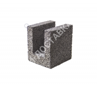 Керамзитобетонные блоки строительные «ТермоКомфорт» для перемычек шириной 200 мм (отгрузка кратно поддону с завода)