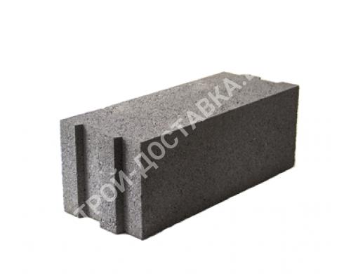 Керамзитобетонные блоки строительные «ТермоКомфорт» полнотелые толщина 200 мм (отгрузка кратно поддону с завода) 490*200*185 мм