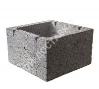 Керамзитобетонные блоки строительные «ТермоКомфорт» (для вентканалов) (отгрузка кратно поддону с завода)  одноканальные