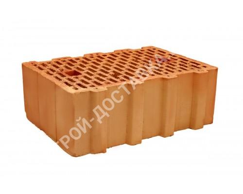 Блок керамический поризованный пустотелый паз гребень 380х250х138