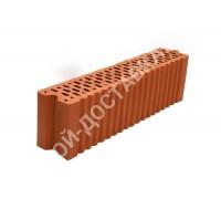 Блок керамический поризованный пустотелый паз гребень 510х100х138