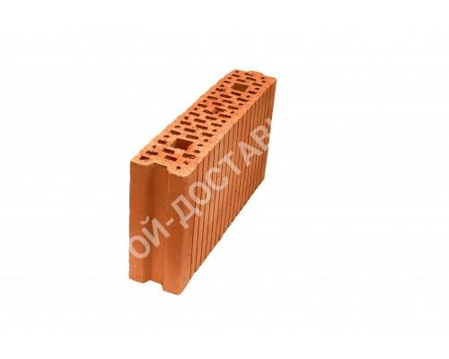 Блок керамический поризованный пустотелый паз гребень 510х100х219