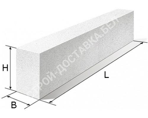 Перемычка газосиликатная 1090х100х250 мм (цена за штуку)