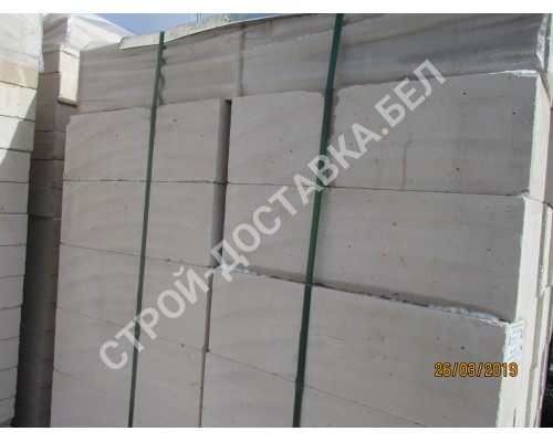 Блоки из ячеистого бетона МКСИ толщина 200 мм (поштучно)