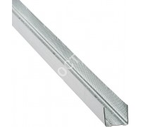 Профиль для гипсокартона UD: 27x28. Длина 3 м. РБ. Толщина – 0,6 мм.