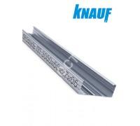Профиль KNAUF для гипсокартона CD: 60x27. Длина 3 м. Толщина – 0,6 мм.