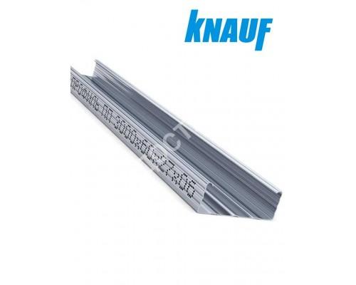 Профиль KNAUF для гипсокартона CD: 60x27. ДЛИНА 4 м! Толщина – 0,6 мм.