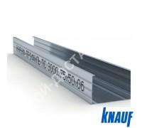 Профиль Knauf для гипсокартона CW: 75x50. Длина 3 м. Толщина – 0,6 мм.