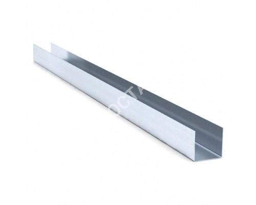 Профиль БЕЛГИПС для гипсокартона UD: 27x28. Длина 3 м. Толщина 0,6 мм.