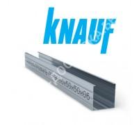 Профиль Knauf для гипсокартона CW: 50x50. Длина 3 м. Толщина – 0,6 мм.