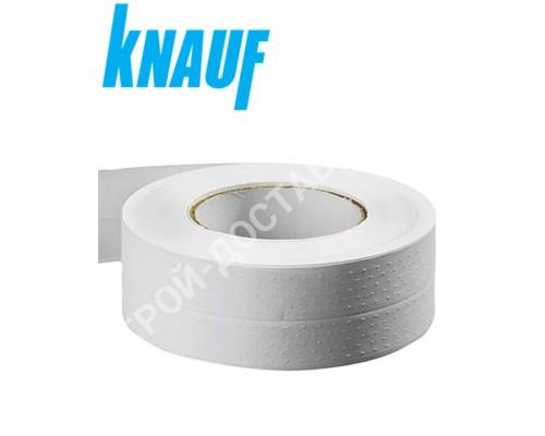 Бумажная лента KNAUF для заделки стыков гипсокартона 23м х 50мм.