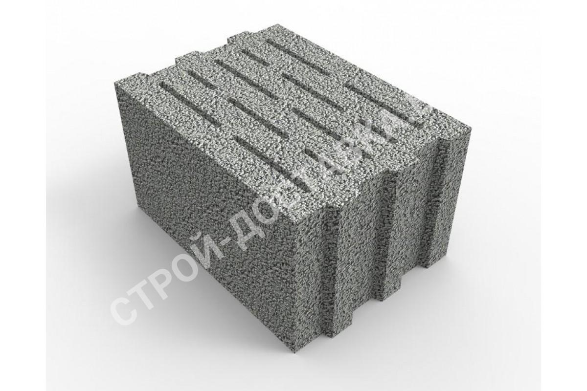 сколько штук керамзитобетонных блоков в 1 м3