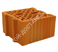 Блок керамический поризованный пустотелый 250x250x138 4,5NF отгрузка с завода