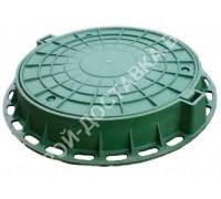 Люк пластиковый канализационный 3 т