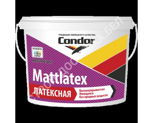 Condor Mattlatex. Моющаяся латексная краска. РБ. 15 кг.