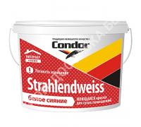 Condor Strahlendweiss. Моющаяся краска для сухих помещений. РБ, 15 кг.