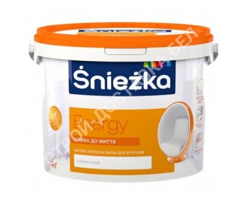 Sniezka Energy White. Польша. 10 литров.