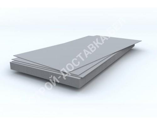Шифер плоский серый 111 x 175 см (8 мм)