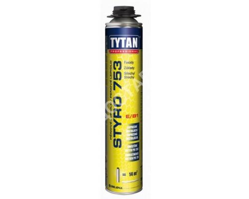 Клей-пена TYTAN для теплоизоляции 750 мл. Под пистолет. Польша.