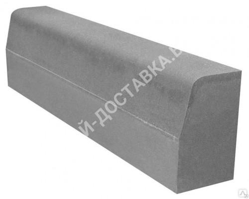 Борт дорожный 1000х300х150 (серый)