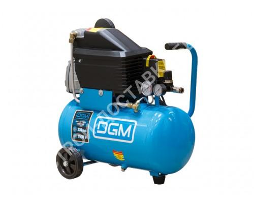 Компрессор DGM AC-254 (440 л/мин, 8 атм, коаксиальный, масляный, ресив. 50 л, 220 В, 2.20 кВт)