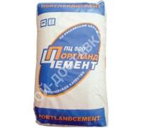Цемент ПЦ500 Д0 25 кг. Производство - ОАО БЦК.