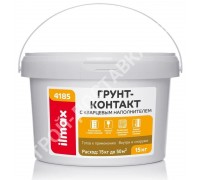 Грунт-контакт ilmax 4185 (аналог ceresit ct-16). С кварцевым наполнителем. 15 кг.