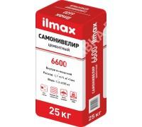 Самонивелир цементный ilmax 6600. РБ. 25 кг.