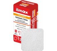 Штукатурка цементно-известк. ilmax thermo теплая стена. Белая. 12 кг.