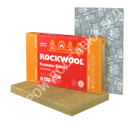 Rockwool Камин Баттс (Firerock). РФ. Толщина 30 мм. В пачке 2,4 м.кв. Цена за лист.